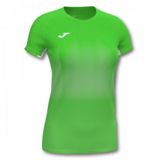 ELITE VII T-SHIRT FLUOR GREEN-WHITE S/S