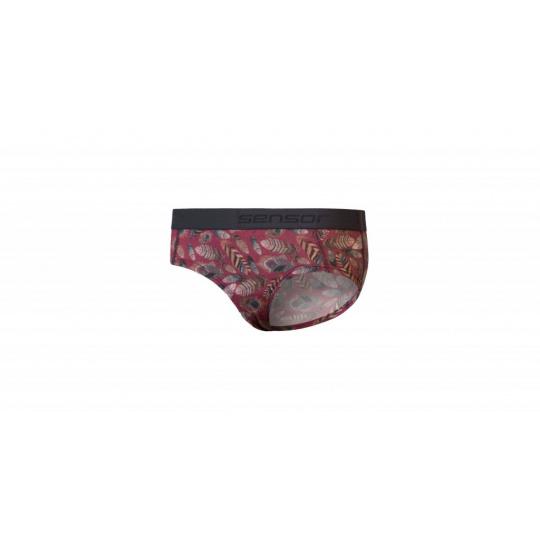 kalhotky dámské SENSOR MERINO IMPRESS lilla