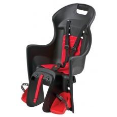 sedačka Polisport Boodie na nosič čierno-červená