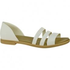 Crocs Tulum Open Flat W 206109-1CQ biela 37/38