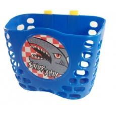 koš dětský barevný modrý Shark + pásky
