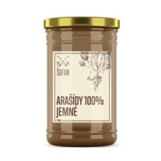 Arašidy 100% praženej mělněné jemné 1000g (Arašidový krém jemný)