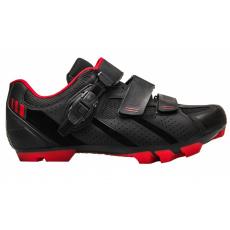 topánky FLR F-65 čierno / červené