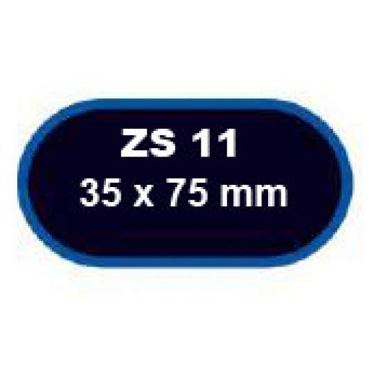 záplaty FERDUS ZS 11 75x35mm balení 5ks