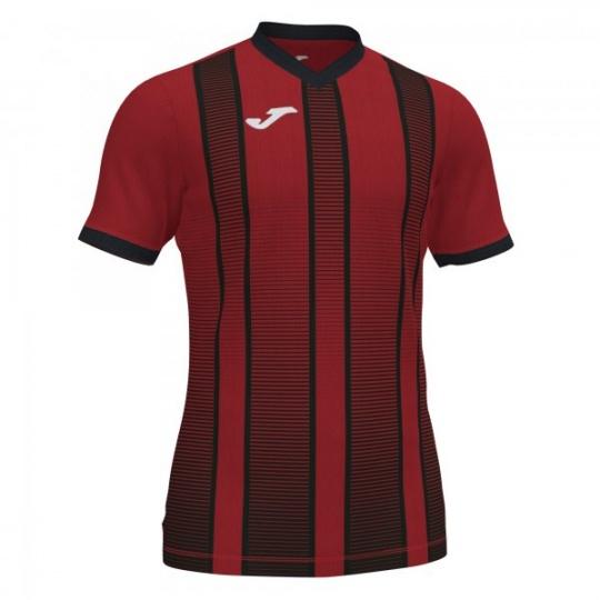 TIGER II T-SHIRT RED-BLACK S/S