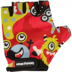 Meteor Junior Monsters cycling gloves multicolor