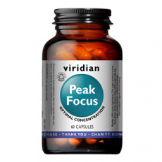 Peak Focus 60 kapslí Organic (Normální kognitivní funkce)
