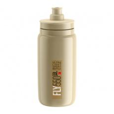 fľaša ELITE FLY 20 béžová / hnedé logo 550 ml