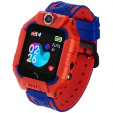 Watch, smartwatch Kids Play red