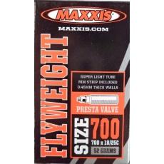"duše MAXXIS Flyweight 28""x0.75-1.00 (18/25-622) FV/40mm"