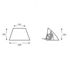 Meteor Monterosso 80141 beach tent