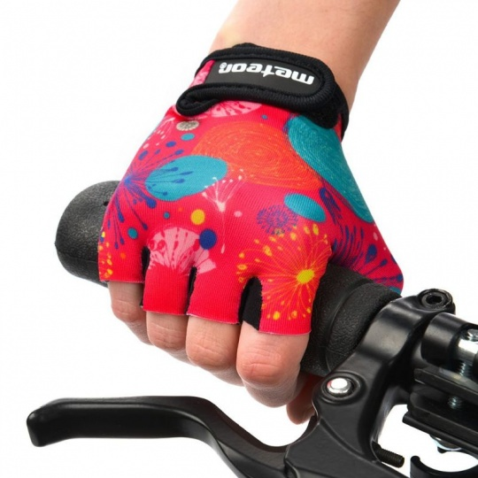 Cycling gloves Meteor Jr 26160-26162
