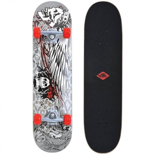 Schildkrot Kicker 31 Phantom gray-red 510601 skateboard
