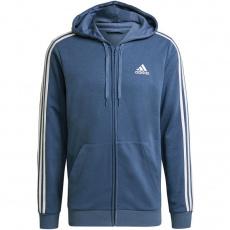 Adidas Essentials 3 Stripes FZ FL Hoodie M GK9035