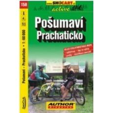 mapa cyklo Pošumaví, Prachaticko, 158