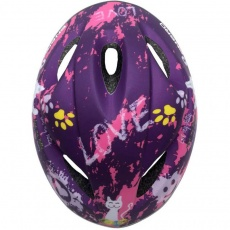 Adjustable bicycle helmet Love Kitty 51-53 cm Enero Jr 1011066