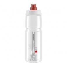 fľaša ELITE Jet Clear červené logo, 750 ml