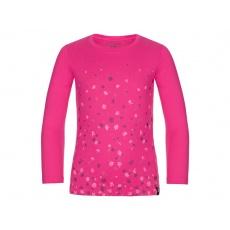 triko dlouhé dětské LOAP BASIE růžové