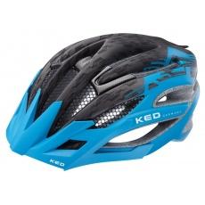prilba KED Wayron PRO M čierna / zv.modrá matt 55-59 cm