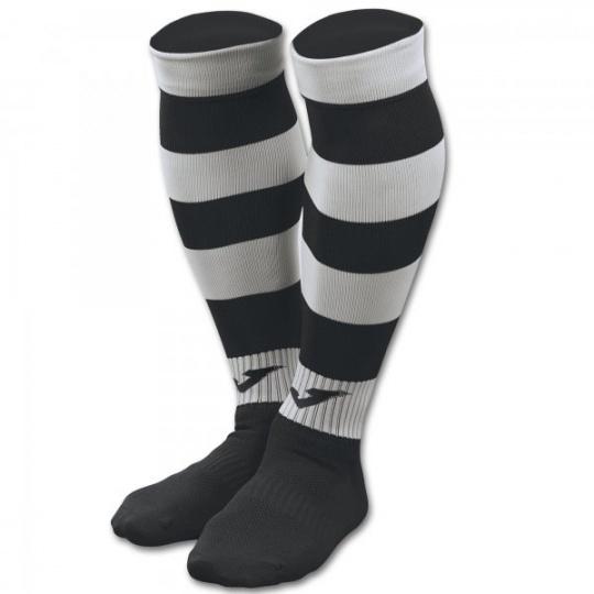 FOOTBALL SOCKS ZEBRA II BLACK-WHITE
