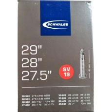 """duša SCHWALBE SV19 27.5""""x2.00-28 """"x1 1/2 (50-584 / 40-635) FV / 40mm"""