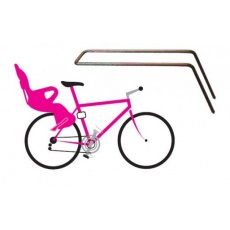 držák sedačky OK BABY vzpěra slopingový rám