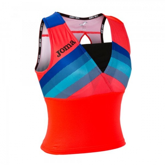 TOP RUNNING FLUOR CORAL