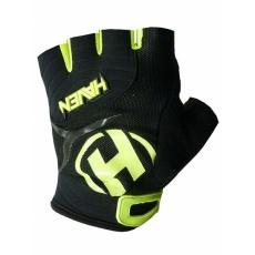 rukavice HAVEN DEMO SHORT čierno / zelené