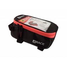 """brašna 4RACE přední na mobil XL 5,5"""" černo-červená"""