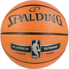 Basketball ball Spalding NBA Platinum Outdoor 2017
