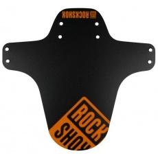 blatník RockShox do odpruženej vidlice čierny-neon orange potlač