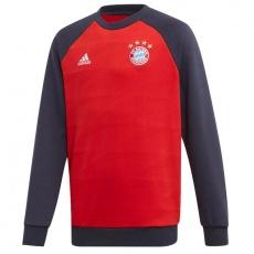 Adidas FC Bayern CR Sweat Jr DX9233 sweatshirt