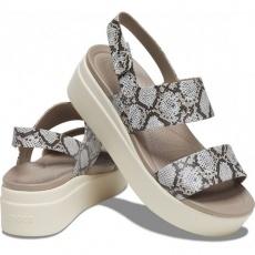 Crocs Brooklyn Low Wedge W multi stucco sandals 206453 93T