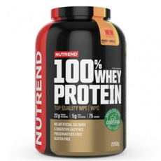 100% Whey Protein 2,25 kg NEW mango vanilka + Šejker ZADARMO