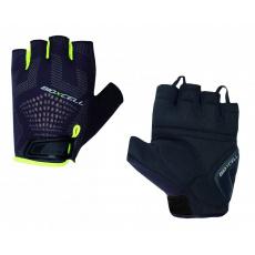 rukavice pánske CHIBA BIOXCELL SUPER FLY čierno / fluoritové