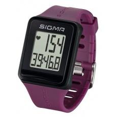 Pulzmeter Sigma ID.Go fialový plum