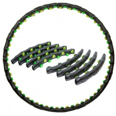 Hula hoop with massage with magnets 98 cm EB FIT 1030 630