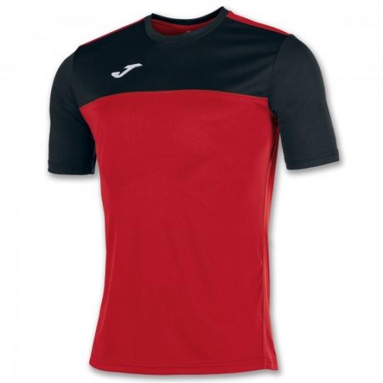S/S T-SHIRT WINNER RED-BLACK