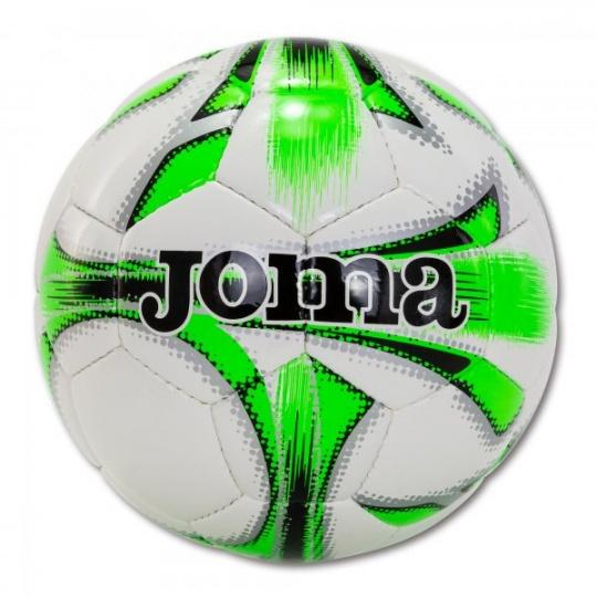 DALI SOCCER BALL WHITE-FLUOR GREEN SIZE 5