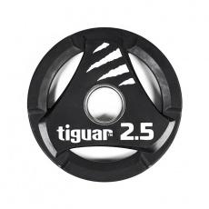 Olympic plate tiguar PU 2.5 kg TI-WTPU00250
