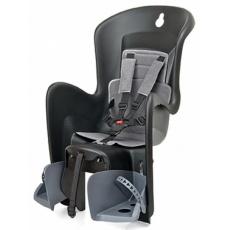 sedačka Polisport Bilby na nosič čierno-tmavo šedá