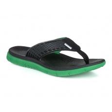 boty pánské LOAP CALLAY žabky černo/zelené