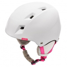 Meteor Kiona ski helmet white / pink 24850-24852
