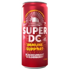 Super DC Immune Support blackcurrant elderberry 250ml
