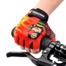 Cycling gloves Meteor Firefighter Jr 26125-26126