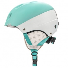 Meteor Kiona ski helmet light blue / white 24857