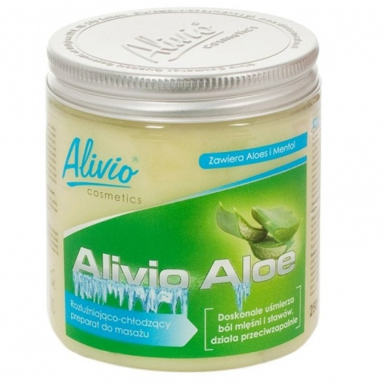 AG Alivio Aloe 250ml cooling gel
