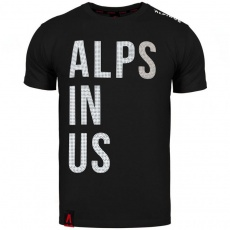 Alpinus Alps In Us T-shirt black M ALP20TC0015