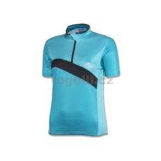 dres krátky dámsky Rogelli BONA modrý