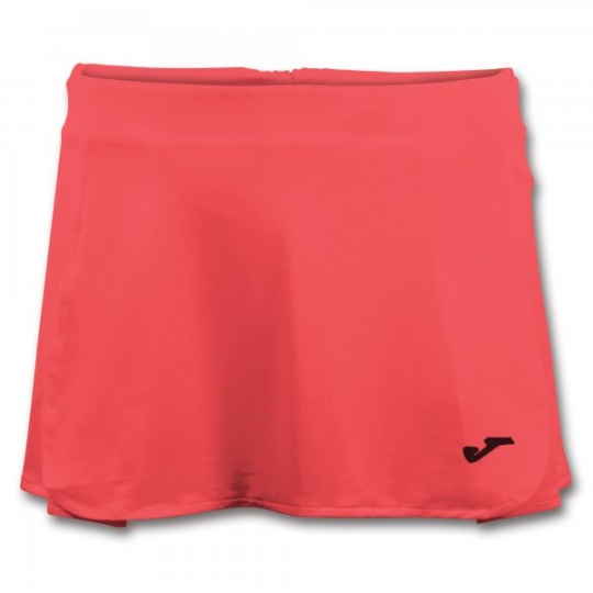 OPEN II CORAL FLUOR TENNIS SKIRT